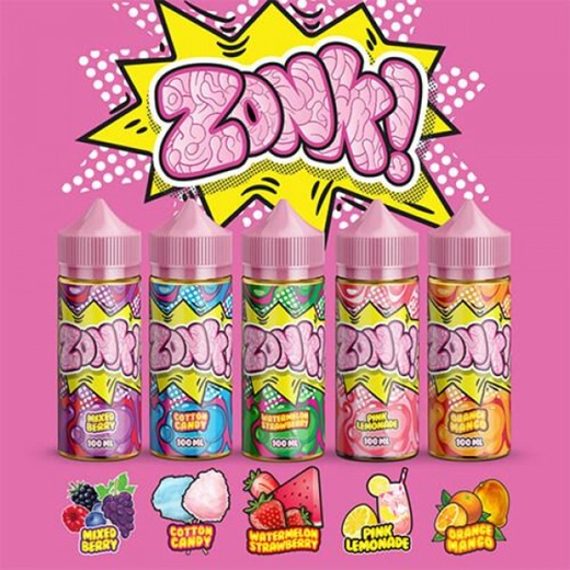 Жидкость Zonk Mixed Berry 100мл 3мг (ягоды, жвачка)
