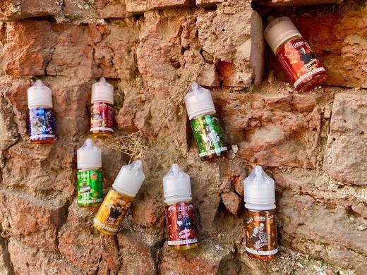 Жидкость URBN Community SALT ArturKam 30мл 4.0(тост, масло, клубника, джем)