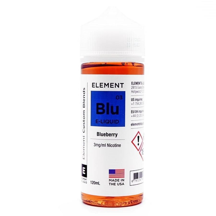 Жидкость Elements Blueberry 120мл 3мг (черника, сладость)