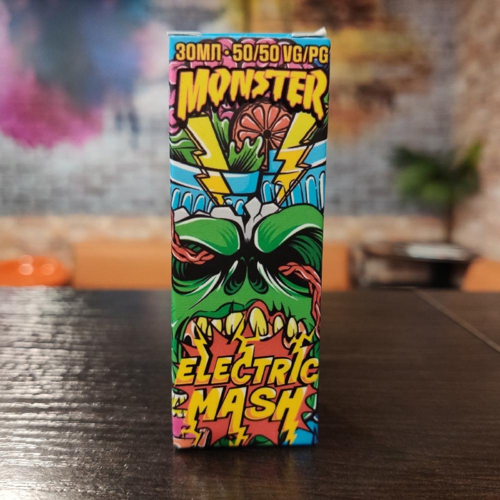 Жидкость Monster Vape SALT Electric Mash 30мл 20мг (апельсин, маракуйя, ананас)