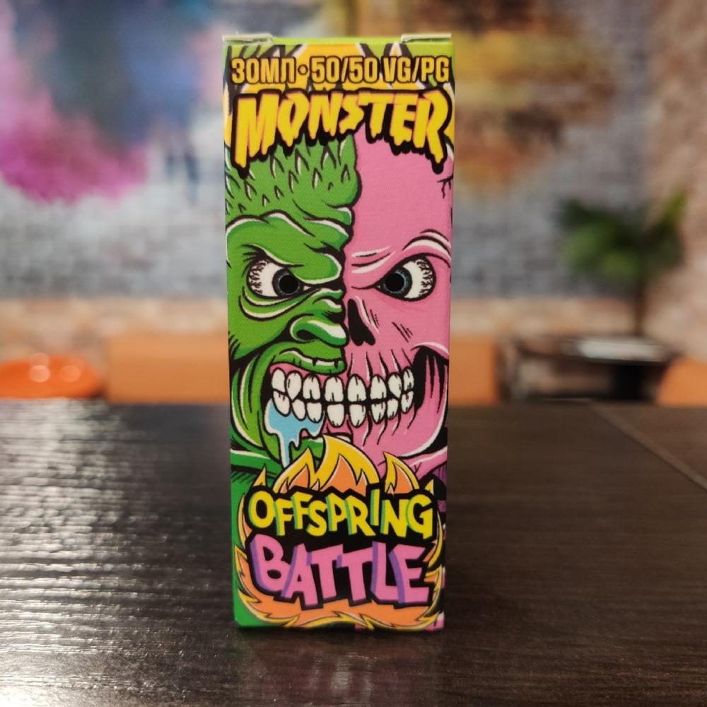 Жидкость Monster Vape SALT Offspring Battle 30мл 20мг (тропики, гуарана, гуанабана)
