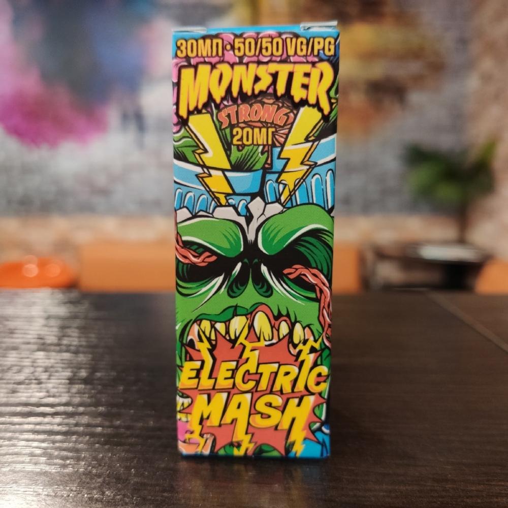 Жидкость Monster Vape STRONG Electric Mash 30мл 20мг (апельсин, маракуйя, ананас)