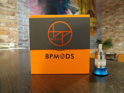 Бак BP Mods Pioneer MTL RTA Stainless Steel