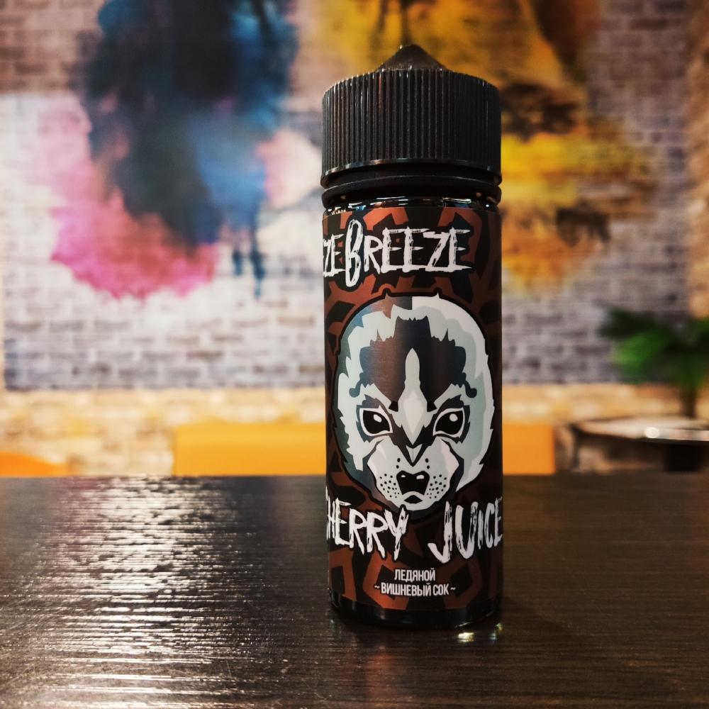 Жидкость Freeze Breeze Cherry Juice 120мл 3мг (вишня, сок, холодок)