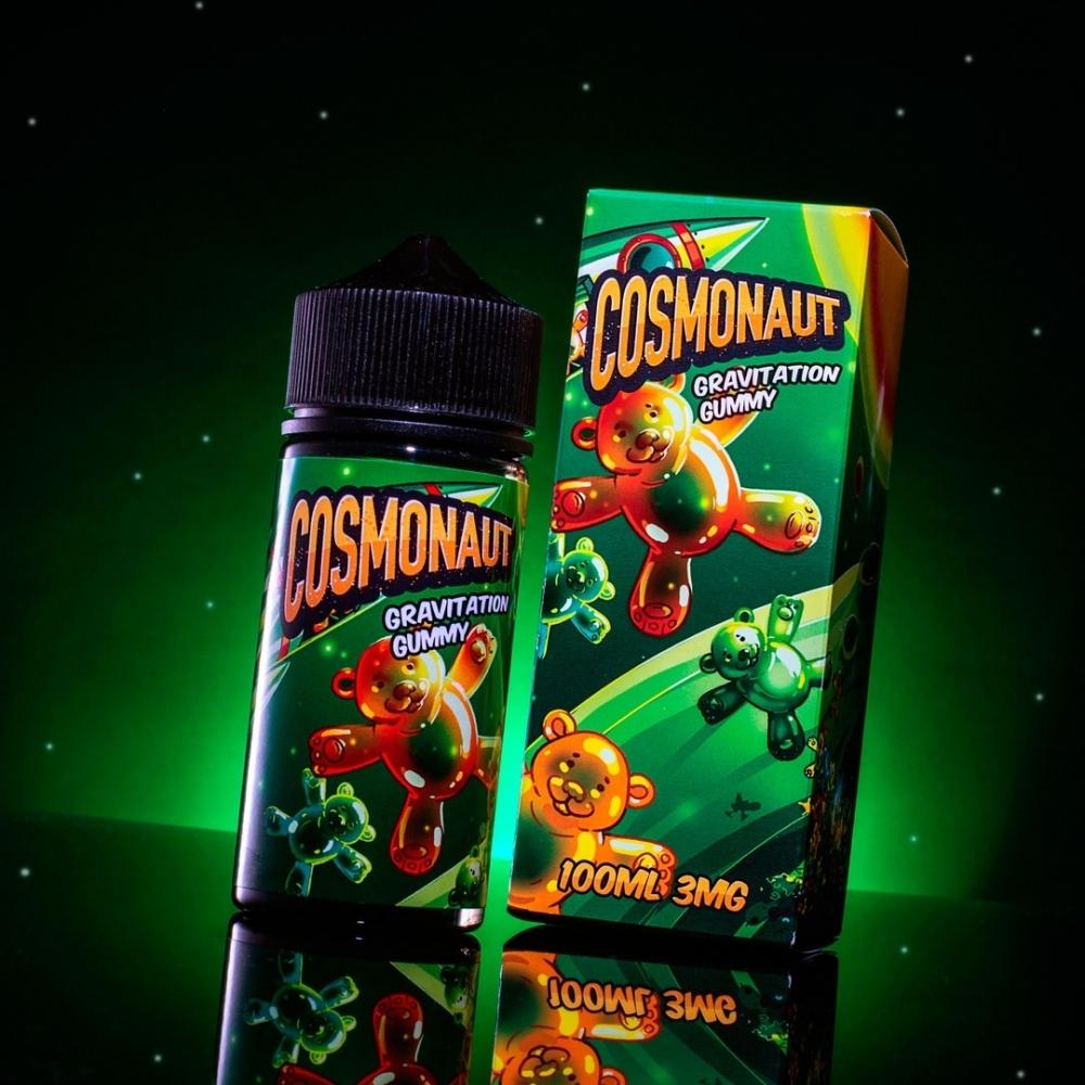 Жидкость Cosmonaut Gravitation Gummy 100мл 3мг (мармелад, манго)