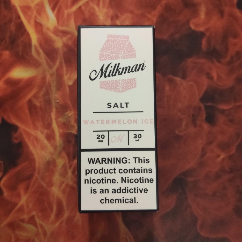 Жидкость Milkman SALT Watermelon Ice 30мл 20мг (арбуз, холодок)