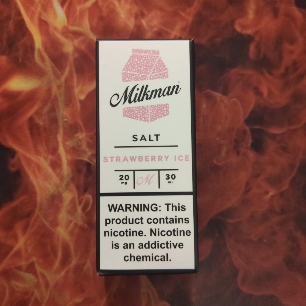 Жидкость Milkman SALT Strawberry Ice 30мл 20мг (клубника, холодок)