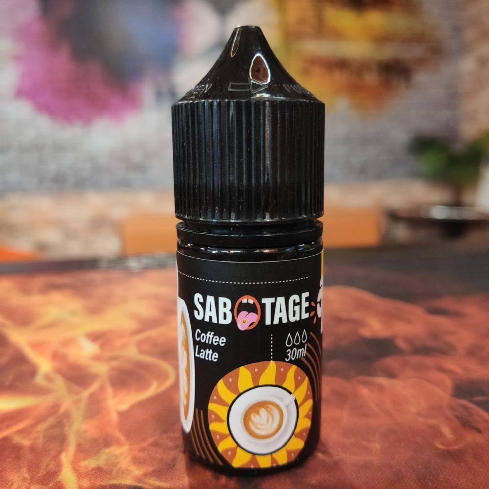 Жидкость Sabotage Coffee Latte 30мл 18мг (кофе, латте)