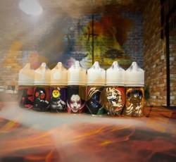 Жидкость Gltich Sauce Utopia EXTRA SALT Neon Abyss 30мл 20мг (яблоко, жвачка, кислинка)
